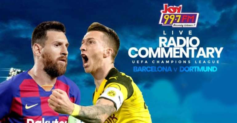 JoyUCL commentary: Barcelona v Dortmund preview