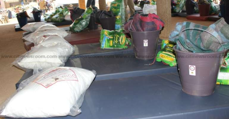 U/E: Action Aid Ghana distributes relief items to over 3,000 flood victims