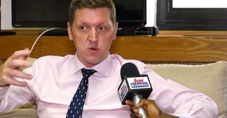 Iain Walker is British High Commissioner to Ghana