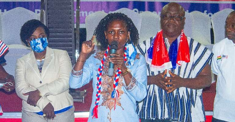 NPP USA Donates To Dr. Anyars; Endorses Him To Lead Tamale Central