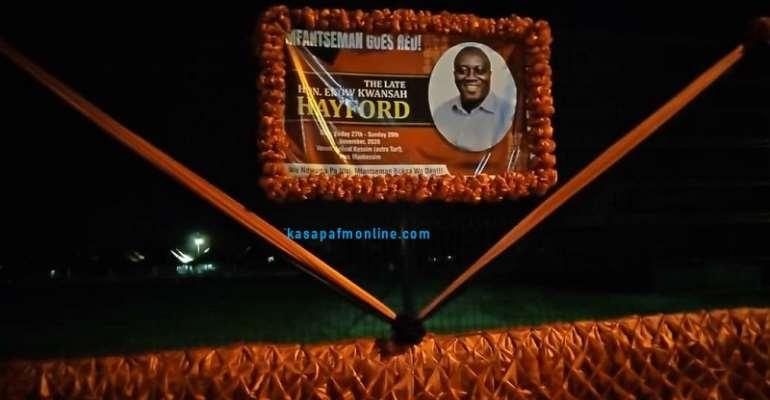 Slain Mfantseman MP To Be Buried Tomorrow