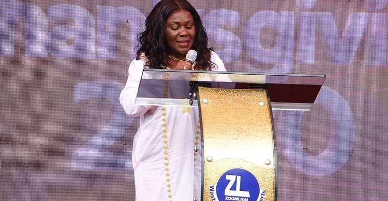 Vote Wisely For The Continuation Of NPP Good Works---Cecilia Dapaah To Voters