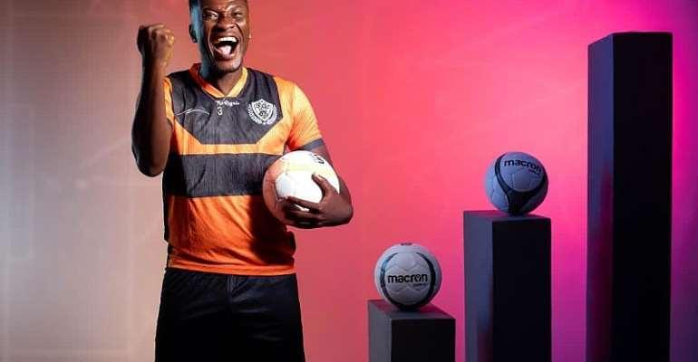 Legon Cities FC striker Asamoah Gyan
