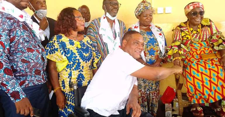 CPP, Greenstreet Pay Homage  To Queenmother Of Akuapem, Ga Chief
