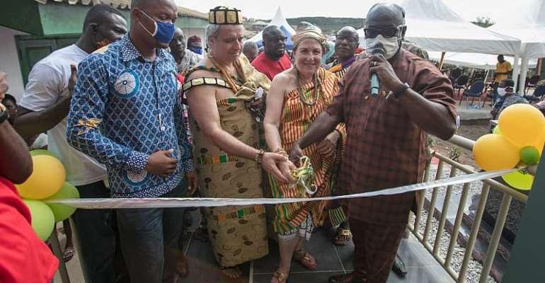 Yamoransa Community Educational Goals Get A Boost With HAF And FYF Support - Nana Akwa II