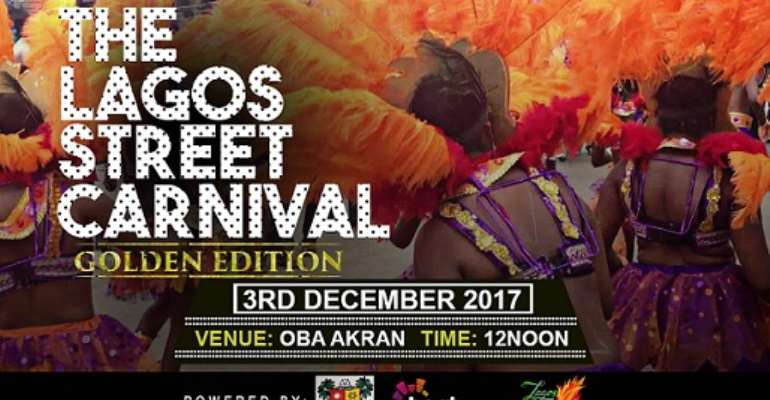 700 CULTURAL TROUPES TO STORM LAGOS STREET CARNIVAL IN DECEMBER