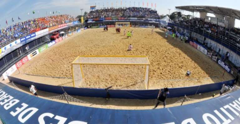 Ghana Beach Soccer To Get Arena Next Year