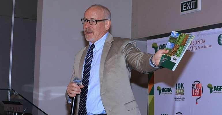 Dr. Joe Devries, Vice President Program Development & Innovation at AGRA
