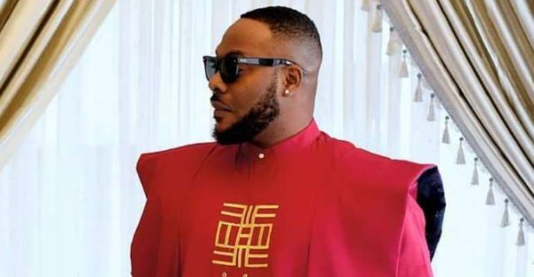 Nollywood actor, Bolanle Ninolowo Shows off his Agbada Style
