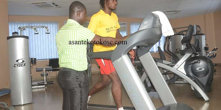 Songne Yacouba Begins Gym Works As He Steps Up Recovery