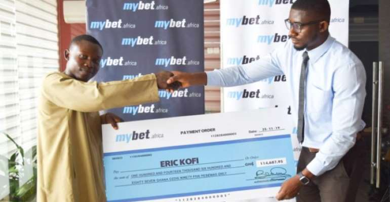 Young Baker Wins Over GHS114K From mybet.africa