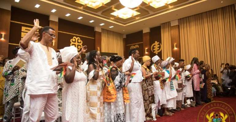 Akufo-Addo Grants Citizenship To 126 Diasporans