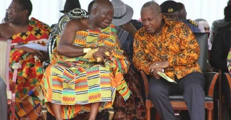 Otumfour Shows A Rare Unifying Quality Lacking In Most Ghanaian Leaders