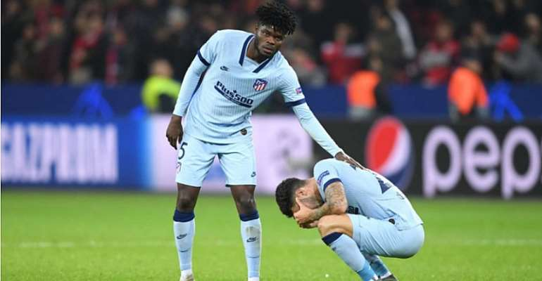 We Were Not Lucky Against Juventus, Says Thomas Partey After Atletico Madrid Defeat