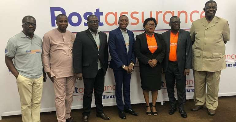 Ghana Post Launches Post Assurance With Allianz Life Insurance