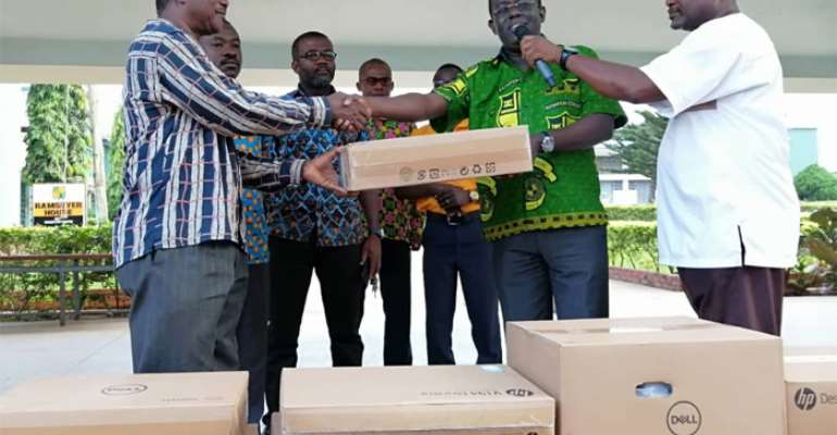 Addo-Kufuor Gives Back To Alma Mater