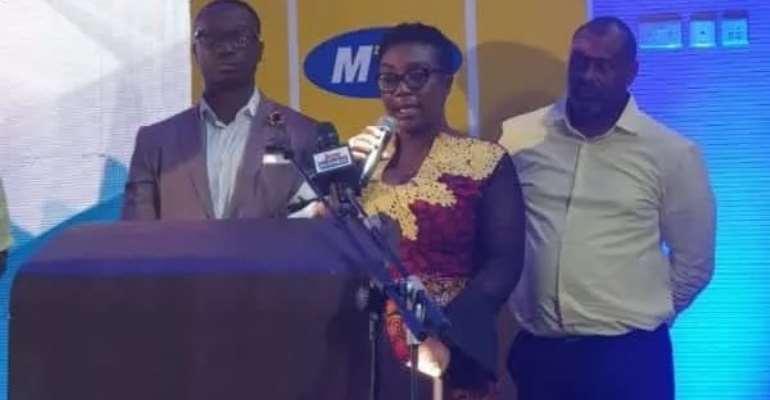 Acting Corporate Services Executive of MTN Ghana, Georgina Asare Fiagbenu