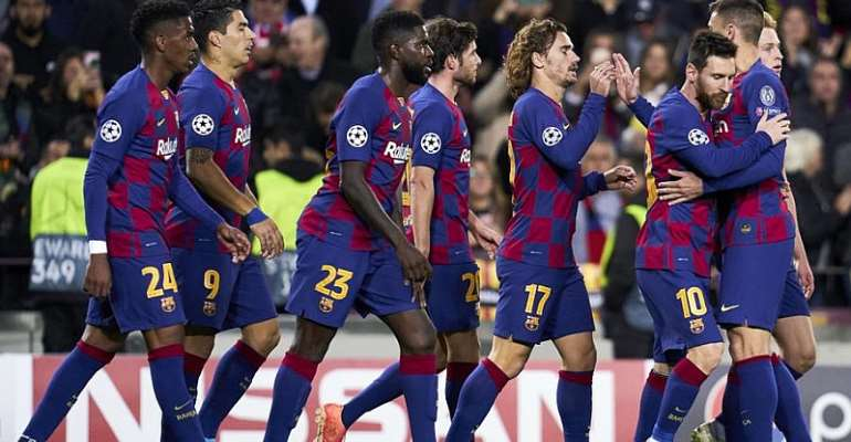 UCL: Messi Fires Barca Into Last 16, Liverpool Hold Napoli