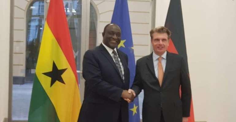 Ghana is safe haven for German investors - Trade Minister