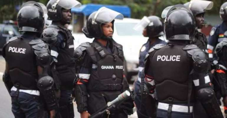 File photo: The Accra Police Command, according to the group, said the picketing could not be approved due to security reasons.