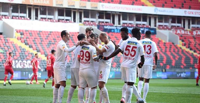 Benjamin Tetteh Impress With Assist To Help Yeni Malatyaspor Draw Against Gaziantep FK