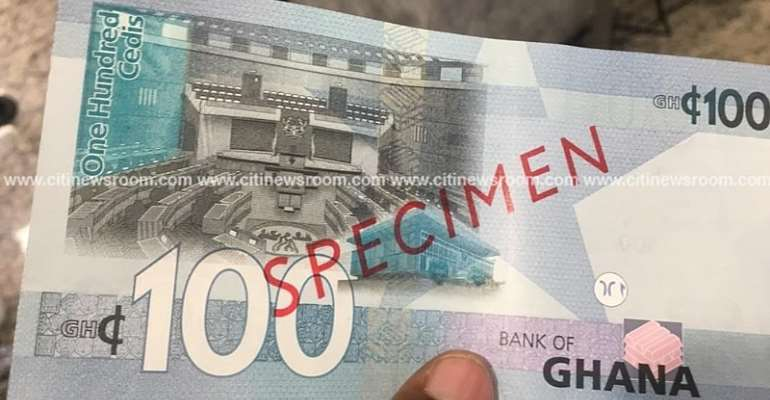 Check The New GH¢100, GH¢200 Banknotes [Photos]