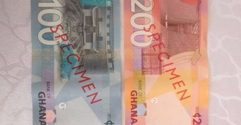 How Ghanaians React To New GH¢100, GH¢200 Banknotes