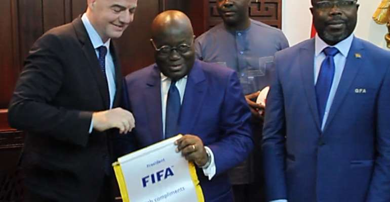 FIFA Pledges To Build One Stadium In Every African Country