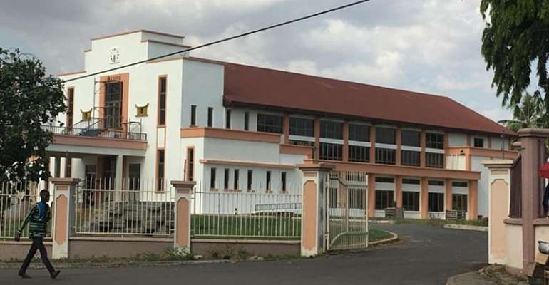 Prempeh Hall Project Takes Shape