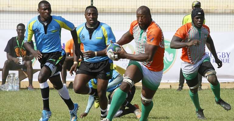 Côte d'Ivoire Thrash Rwanda (60-03) To Qualify For Group Stage Of Rugby Africa Cup 2020
