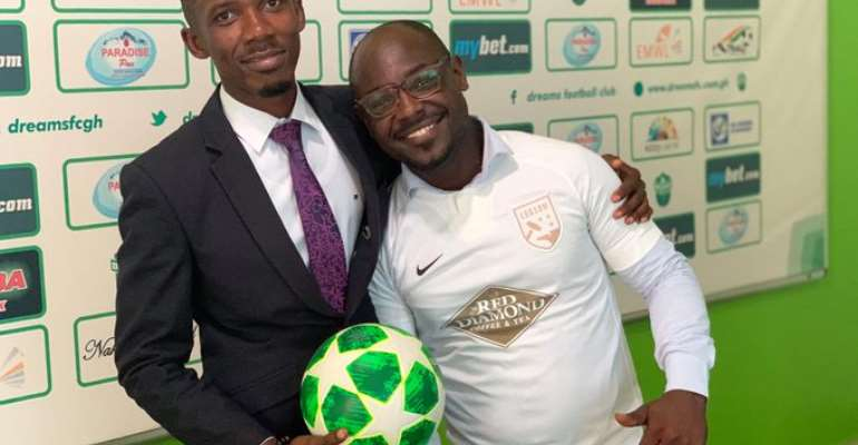 Dreams FC Communications Director Extend His Stay At The Club