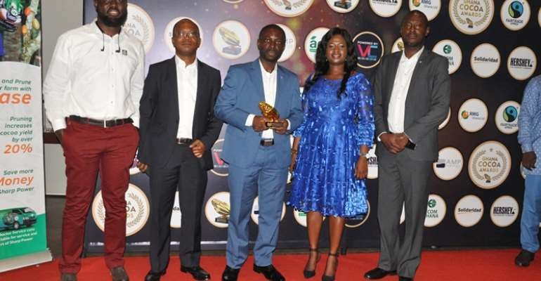Yara Ghana wins fertilizer agro input of the year at maiden Ghana Cocoa Awards