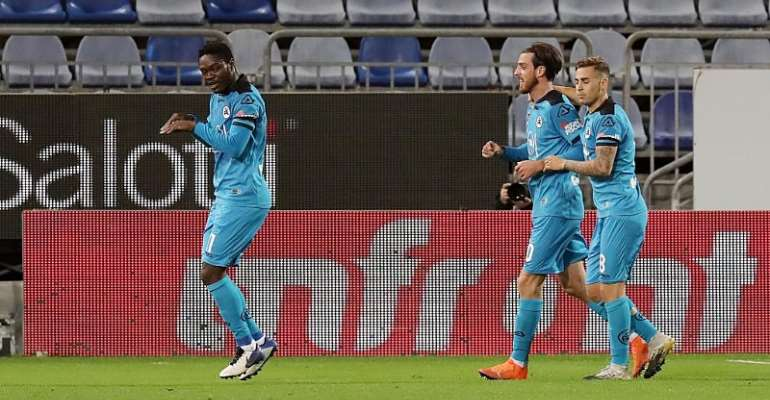 Emmanuel Gyasi Nets First Serie A Goal In Spezia Calcio's 2-2 Draw Against Cagliari