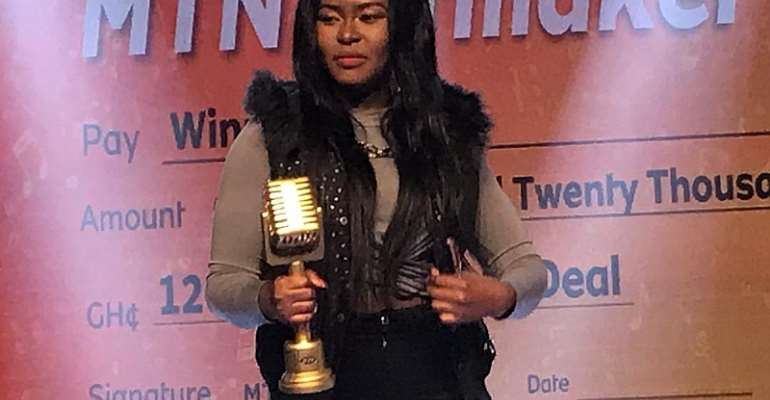 MTN Hitmaker Season 9 winner Adepa