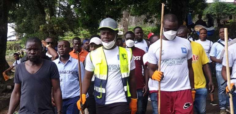Liberia: The Monrovia City Government & Messengers Of Peace Take Up Peace Clean-up