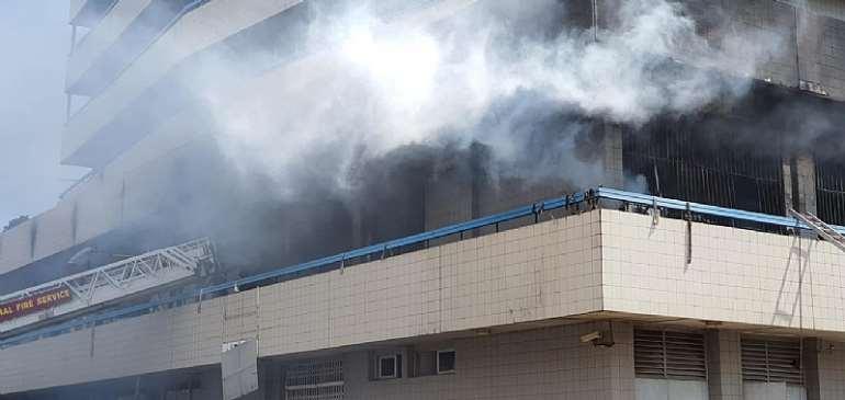 GCB Bank Shuts Down Kantamanto Branch After Saturday Fire