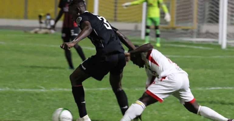 Richmond Lamptey's Solitary Strike Gives Inter Allies FC Narrow Win Against Hearts Of Oak