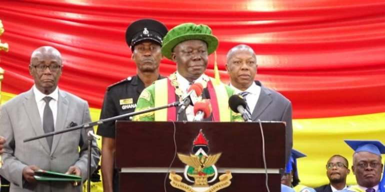 Otumfuo To Forward KNUST Chaos Report To Governing Council For Action