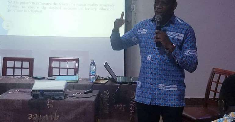 NAB Is Not A Board To Witch Hunt — Dr. Kingsley Nyarko To Tertiary Institutions