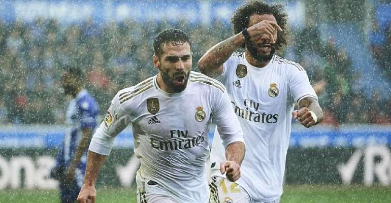 Carvajal Winner Sends Real Madrid Top Of La Liga