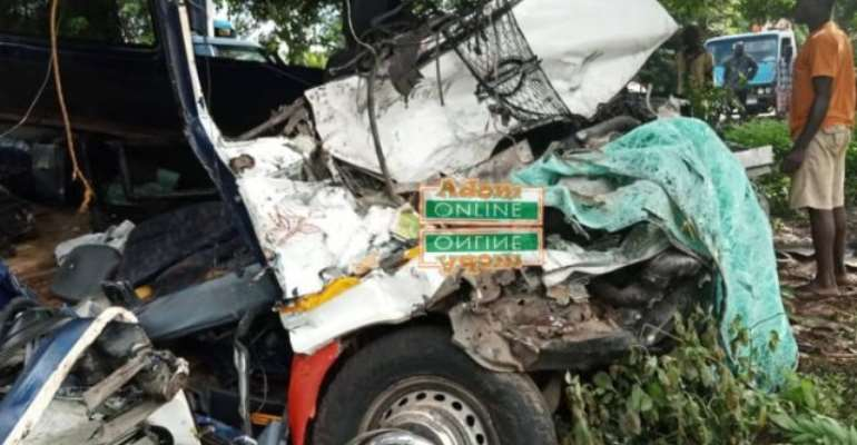 Two dead in gory accident at Gomoa Antseadze