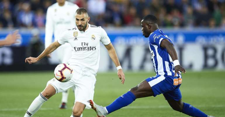 Wakaso Impress For Alaves In Their 2-1 Defeat To Real Madrid