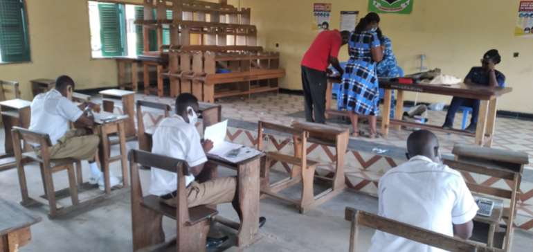 Nsawam prisons presents candidates for Nov/Dec exams