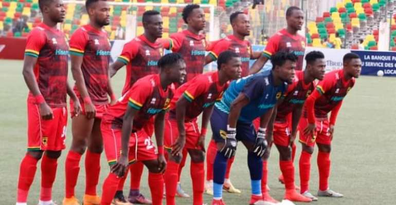 2020/21 Caf Champions League: Kotoko Coach Maxwell Konadu Attributes Stalemate With FC Nouadhibou To Poor Officiating