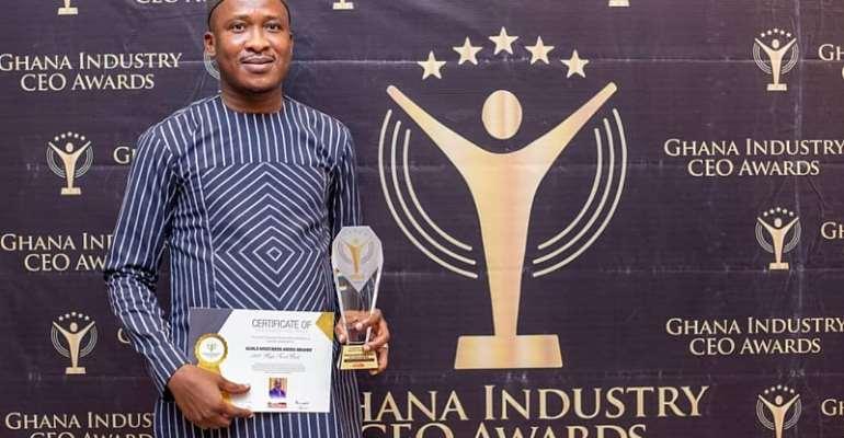 General Manager of BESSFA Rural Bank honoured at 2020 Ghana Industry CEO Awards