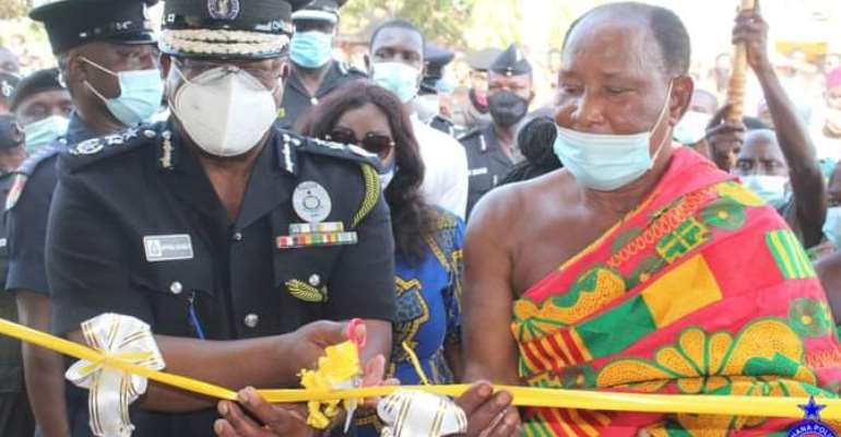 Ahafo: IGP commissions Yamfo police headquarters