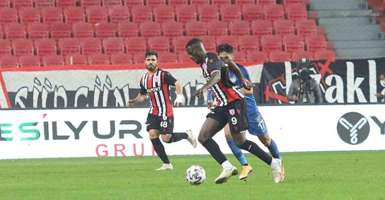 Samsunspor: Edwin Gyasi Delighted With Home Win Over Tuzlaspor