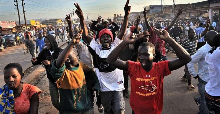 Young people constitute over 77% of Uganda's population - Source: EPA/YANNICK TYLLE