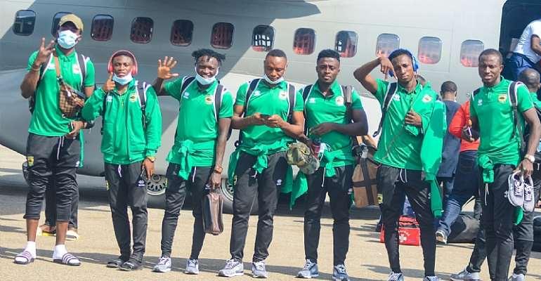 CAF CL: Kotoko Arrive Safely In Ghana After First Leg Draw Against FC Nouadhibou