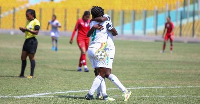Mukarama Abdulai Hits Brace As Ghana's Black Princesses Beat Morocco 4-0